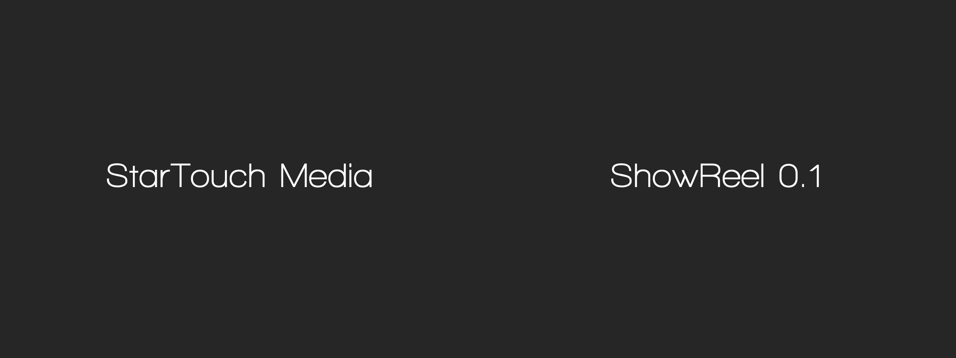 showreel startouch media